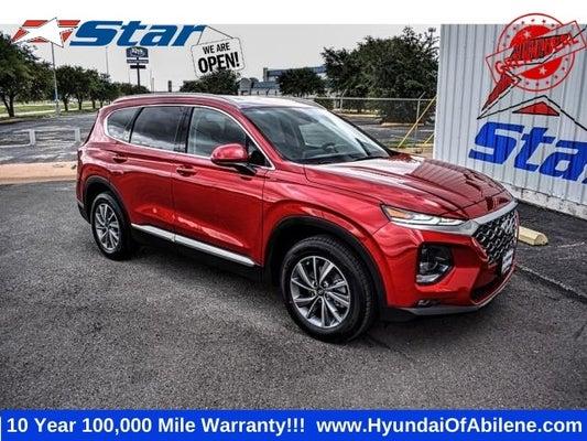 2020 Hyundai Santa Fe Sel 2 4 In Abilene Tx Abilene Hyundai Santa Fe Star Hyundai Of Abilene